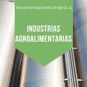 ACTUACIONES EN INDUSTRIAS AGROALIMENTARIAS CON MOTIVO DEL ESTADO DE ALERTA COVID-19